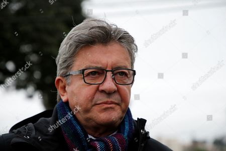 Editorial picture of French left leader Jean-Luc Melenchon visits Lula in Curitiba, Brazil - 05 Sep 2019