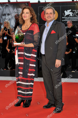 Stock Picture of Stefania Sandrelli and guest