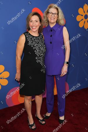 Stock Photo of Jane Latman and Kathleen Finch