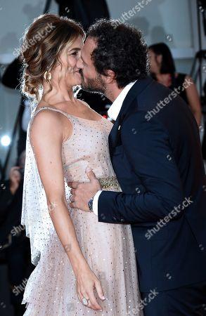 Fabio Troiano and Francesca Barra