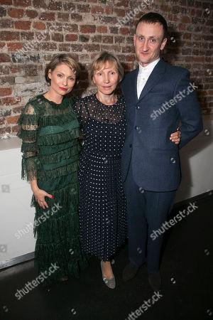 MyAnna Buring (Marina Litvinenko), Marina Litvinenko and Tom Brooke (Alexander Litvinenko)