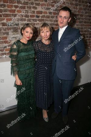 Stock Photo of MyAnna Buring (Marina Litvinenko), Marina Litvinenko and Tom Brooke (Alexander Litvinenko)