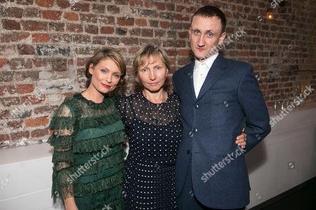 Stock Image of MyAnna Buring (Marina Litvinenko), Marina Litvinenko and Tom Brooke (Alexander Litvinenko)