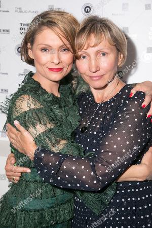 MyAnna Buring (Marina Litvinenko) and Marina Litvinenko