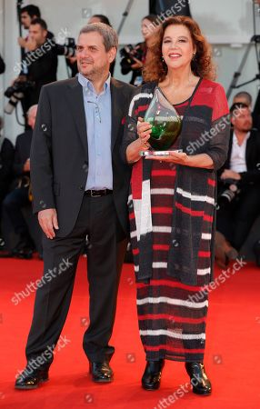 Stock Image of Stefania Sandrelli and guest