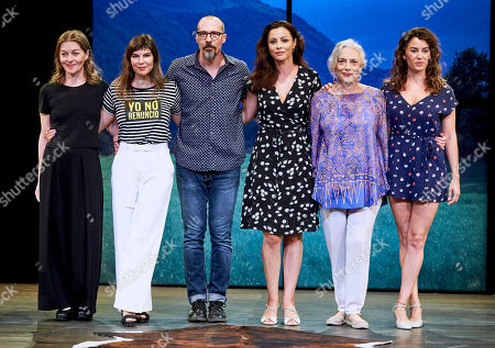 Editorial photo of 'All the Women' play, Show, Principe Gran Via Theatre, Madrid, Spain - 04 Sep 2019