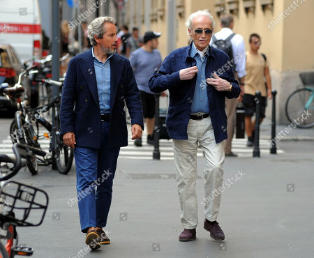 Editorial image of Jose Carreras out and about, Milan, Italy - 05 Sep 2019