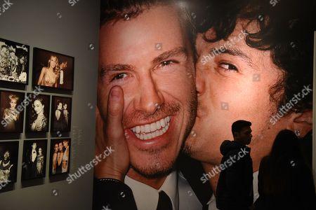 Editorial photo of Mario Testino exhibition, Lima, Peru - 04 Sep 2019