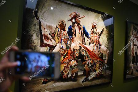 Editorial image of Mario Testino exhibition, Lima, Peru - 04 Sep 2019