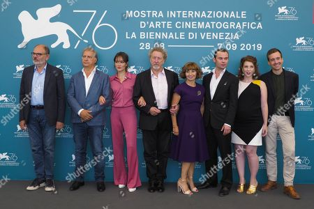 Editorial image of 'Gloria Mundi' photocall, 76th Venice Film Festival, Italy - 05 Sep 2019