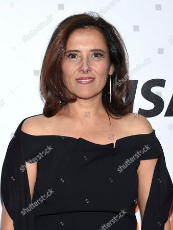 """Stock Picture of Joana Vicente, executive director of the Toronto International Film Festival, attends the premiere for """"Once Were Brothers: Robbie Robertson and The Band"""" on day one of TIFF at the Roy Thomson Hall, in Toronto"""