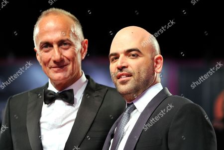 Stefano Sollima and Roberto Saviano