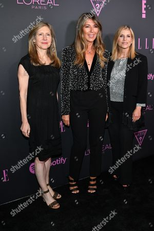 Stock Image of Frances Berwick, Nina Garcia and Dawn Ostroff