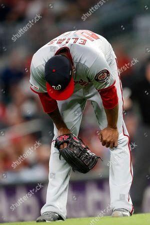 Editorial image of Nationals Braves Baseball, Atlanta, USA - 05 Sep 2019