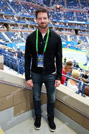 Ian Bohen stops by the Heineken suite at the U.S. Open