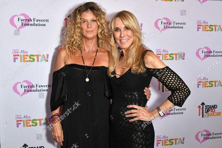 Rachel Hunter and Alana Stewart