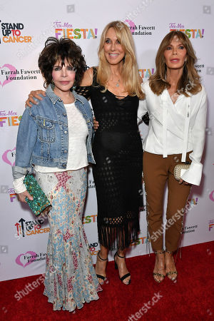 Stock Picture of Carole Bayer Sager, Alana Stewart and Cheryl Tiegs