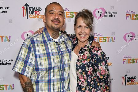 Stock Picture of Jose Arellano and Monica Horan Rosenthal