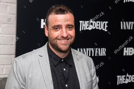 """David Krumholtz attends the premiere of HBO's """"The Deuce"""" third and final season at Metrograph, in New York"""