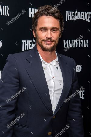 "James Franco attends the premiere of HBO's ""The Deuce"" third and final season at Metrograph, in New York"