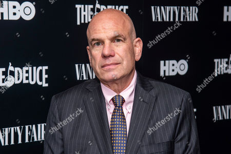 "David Simon attends the premiere of HBO's ""The Deuce"" third and final season at Metrograph, in New York"
