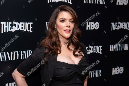 """Stock Image of Kim Director attends the premiere of HBO's """"The Deuce"""" third and final season at Metrograph, in New York"""