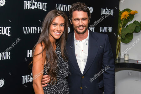 "James Franco, Isabel Pakzad. Isabel Pakzad and James Franco attend the premiere of HBO's ""The Deuce"" third and final season at Metrograph, in New York"