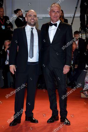 Roberto Saviano and Stefano Sollima