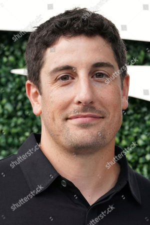 Jason Biggs attends the semifinals of the U.S. Open tennis championships, in New York
