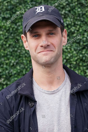 Justin Bartha attends the semifinals of the U.S. Open tennis championships, in New York