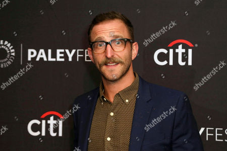 "Stock Image of Will Greenberg attends the NBC Presentation of ""Perfect Harmony"" at the 2019 PaleyFest Fall TV Previews at The Paley Center for Media, in Beverly Hills, Calif"