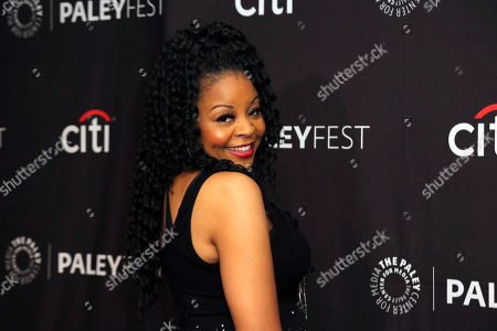 """Tymberlee Hill attends the NBC Presentation of """"Perfect Harmony"""" at the 2019 PaleyFest Fall TV Previews at The Paley Center for Media, in Beverly Hills, Calif"""