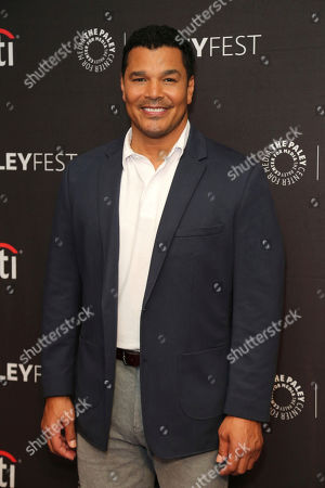 """Geno Segers attends the NBC Presentation of """"Perfect Harmony"""" at the 2019 PaleyFest Fall TV Previews at The Paley Center for Media, in Beverly Hills, Calif"""