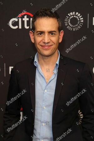 """Stock Photo of Jason Winer attends the NBC Presentation of """"Perfect Harmony"""" at the 2019 PaleyFest Fall TV Previews at The Paley Center for Media, in Beverly Hills, Calif"""