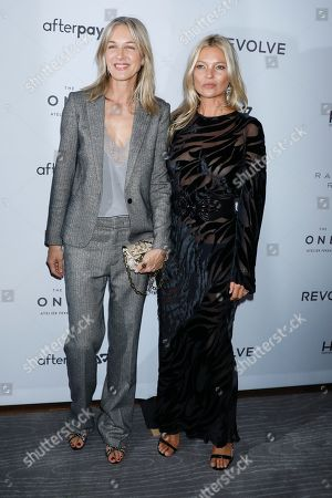 Cecilia Bonstrom and Kate Moss