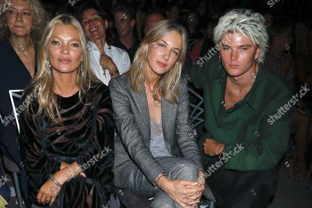 Stock Picture of Kate Moss, Cecilia Bonstrom and Jordan Barrett