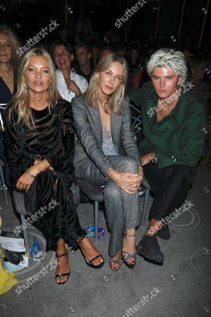 Stock Image of Kate Moss, Cecilia Bonstrom and Jordan Barrett