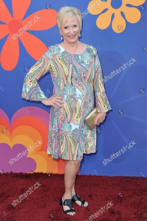 "Eve Plumb attends the LA premiere of ""A Very Brady Renovation"" at the The Garland Hotel, in Los Angeles"