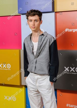 Troye Sivan attends Target's 20th Anniversary Collection launch event at The Park Avenue Armory, in New York