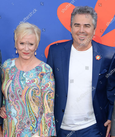 Eve Plumb and Christopher Knight