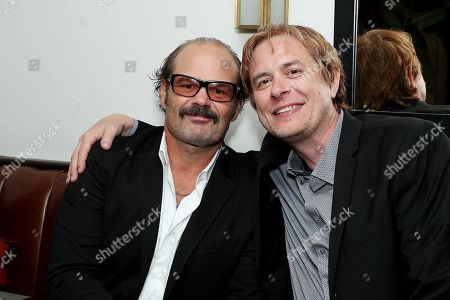 Stock Image of Chris Bauer, Alex Hail (Director)