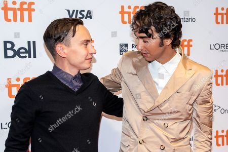 Stock Picture of Keir Gilchrist and Alex Wolff