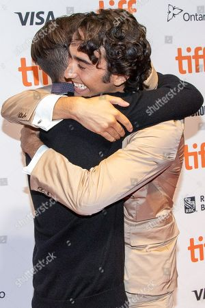 Stock Image of Keir Gilchrist and Alex Wolff