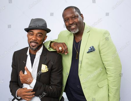 "Ralph Tresvant, Johnny Gill. This photo shows portrait shows Ralph Tresvant, left, and Johnny Gill posing for a portrait in Los Angeles to promote Gill's eighth studio album ""Game Changer II"