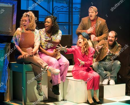 Editorial photo of 'Falsettos' Musical performed at the Other Palace Theatre, London, UK - 04 Sep 2019