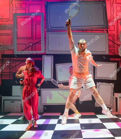 Joel Montague as Mendel, Laura Pitt-Pulford as Trina, Oliver Savile as Whizzer, Daniel Boys as Marvin