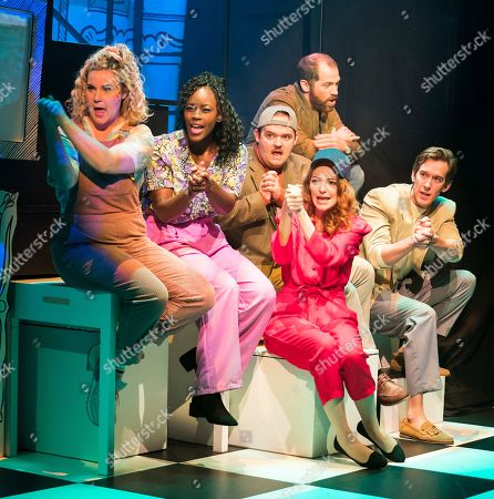Editorial image of 'Falsettos' Musical performed at the Other Palace Theatre, London, UK - 04 Sep 2019