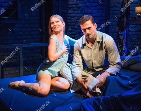 Stock Picture of Dino Fetscher as Ed, Daisy Boulton as Laurel,