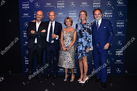 Rudy Zerbi, Beppe Ambrosini, Valentina Lunelli, Filippa Lagerback, Matteo Lunelli