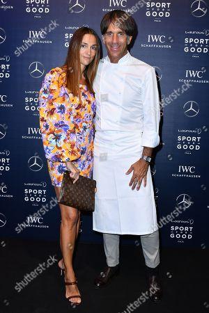 Editorial photo of Laureus Formula 1 Charity Night, Milan, Italy - 05 Sep 2019